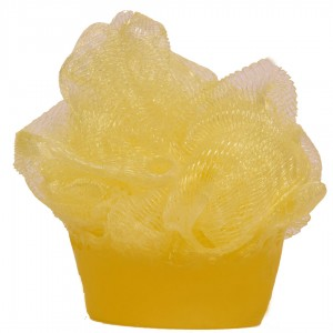 Soap in a sponge Tropical fruits