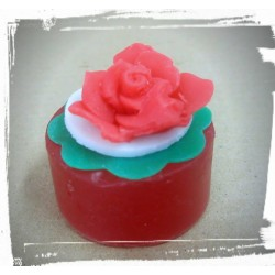 Rose triple soap