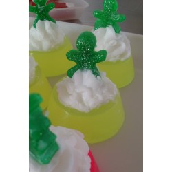 Christmas gingerman neon soap