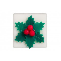 Mistletoe soap white