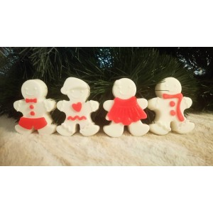 Gingermen soaps pomegranate