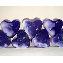 Satin purple heart